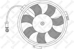 Вентилятор охлаждения радиатора. Volkswagen Passat, 3B2, 3B3, 3B5, 3B6 Audi A8 Audi S6, 4B2, 4B4, 4B5, 4B6 Audi S8 Audi A6, 4B2, 4B4, 4B5, 4B6 Skoda S...