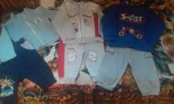 Лот одежды на лето для годовалого малыша за 300. Рост: 74-80, 80-86 см