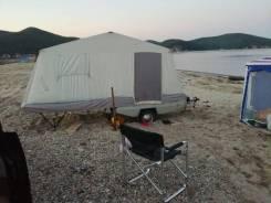 Скиф-М2. Прицеп туристический, прицеп-палатка