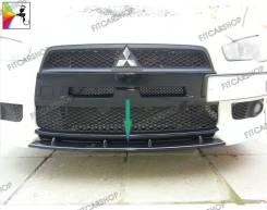 Вставка (зубатка) между клыками Lancer 10 07-11 (Митсубиши Лансер 10). Mitsubishi Lancer, CX2A, CX3A, CX4A, CX5A, CX8A, CX9A, CY1A, CY2A, CY3A, CY4A...