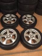 """Продам комплект колес Weds Leonis на 16 с летней резиной. 7.0x16"""" 5x100.00 ET48 ЦО 73,0мм."""