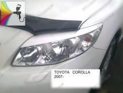 Накладка на фару. Toyota Corolla, ADE150, NDE150, NRE150, ZZE150