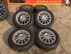 185/65R15 90% с литьём от Bridgestone R15 5.5j 45 4/100. 5.5x15 4x100.00 ET45 ЦО 73,0мм.
