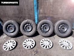 """Штамповка Toyota Allion Prius + Резина Dunlop Enasave [Turboparts]. 6.0x14"""" 5x100.00"""