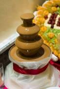 Шоколадный фонтан и фруктовые композиции! Украшение вашего праздника!