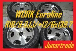 Кованные диски WORK Euroline R18/9,0JJ/+12/6x139.7 б/п по РФ