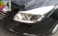 Накладка на фару. Opel Insignia, A A16LET, A16XER, A18XER, A20DT, A20DTH, A20DTJ, A20NFT, A20NHT, A28NER, A28NET