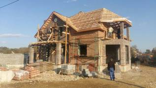 Строительство домов из блоков, железобетон.