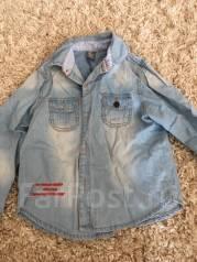 Рубашки джинсовые. Рост: 116-122 см