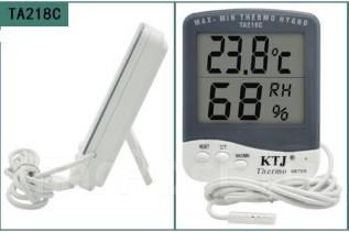 Термометр гигрометр TA218C (дом/улица) с выносным датчиком