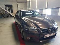 Lexus GS F. С водителем