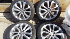"""Почти новое лето 235/45 R18 на оригинальном литье Honda Accord. 8.0x18"""" 5x114.30 ET55"""