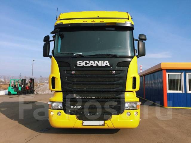 Scania R440LA. Scania R 440 тягач седельный LA 4X2 HNA, 12 740куб. см., 10 292кг.