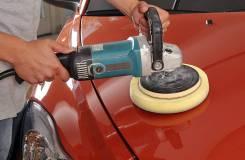 Детейлинг - полировка кузова автомобиля, обработка жидким стеклом
