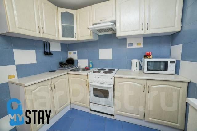 1-комнатная, проспект Океанский 102. Первая речка, 31кв.м. Кухня