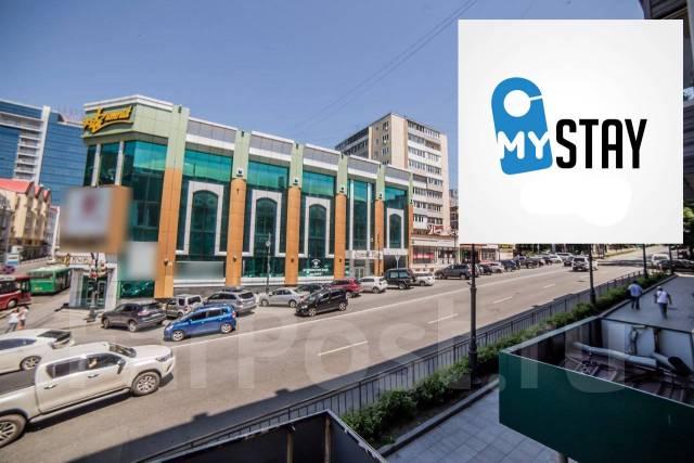 3-комнатная, улица Семеновская 30. Центр, 56кв.м. Вид из окна днем