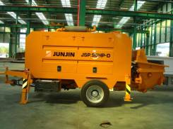Junjin. Стационарный бетононасос 90 куб, 1 000 куб. см., 150 м.