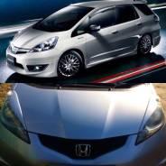 Накладка на фару. Honda Fit Shuttle, GG7, GG8 Honda Fit, GD1, GD2, GD3, GD4, GE, GE6, GE7, GE8, GE9 Двигатели: L15A, L13A
