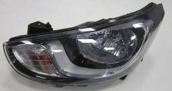 Фара передняя правая Хендай Солярис Hyundai Solaris 2010-2014