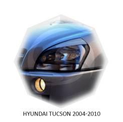 Накладка на фару. Hyundai Tucson, JM, LM Двигатели: D4EA, G4GC, G4KD, G4KE, G6BA