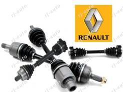 Привод, полуось. Renault