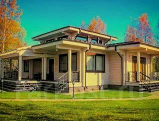 """Проект дома """"Топаз"""" Клееный брус. 100-200 кв. м., 1 этаж, 5 комнат, дерево"""