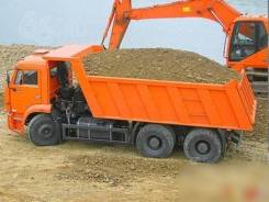 Доставка песка, щебня, грунта, чернозема
