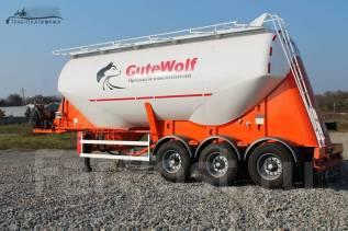 Gutewolf. Цементовоз GuteWolf алюминиевый 35м3, 40 000кг. Под заказ