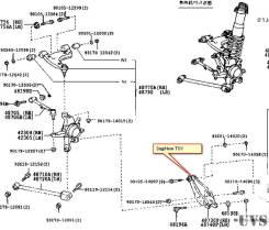 Рычаг TOYOTA MARK II BLIT GX110W