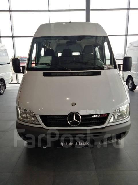 Mercedes-Benz Sprinter 413 CDI. Новый дилерский центр Mercedes! Город/пригород, тахограф в подарок, 2 148куб. см., 23 места