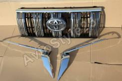 Решетка радиатора. Toyota Land Cruiser Prado, GDJ150L, GDJ150W, GDJ151W, GRJ150L, TRJ150L, TRJ150W Двигатели: 1GDFTV, 1GRFE, 2TRFE