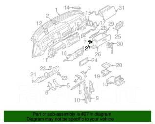 Замок бардачка. Mitsubishi: Pajero, Delica, L400, Galant, Nativa, Eterna, Emeraude, Montero Sport, Montero, Pajero Sport Двигатели: 4D56, 4G54, 4G64...