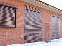 Защитные жалюзи, рольставни, секционные ворота, шлагбаум установка