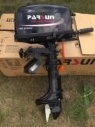 Parsun. 5,00л.с., 2-тактный, бензиновый, нога S (381 мм), Год: 2016 год