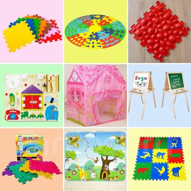 Широкий выбор Развивающих игр и Наборов для детского творчества.