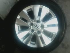 Продаю летнюю Йокогама 215/55/16 на, литье Хонда (5x114.3)