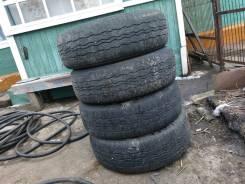 Bridgestone Dueler H/T D687. Всесезонные, износ: 60%, 4 шт