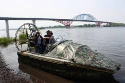 Alligator. 2018 год год, длина 5,20м., двигатель стационарный, 130,00л.с., бензин