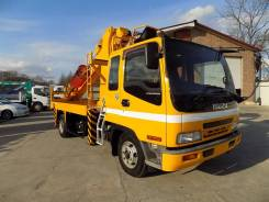 Isuzu Forward. Автобуровая 2003г с крановой установкой., 8 200 куб. см., 5 500 кг.