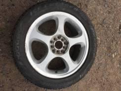 Одно колесо на зимней резине