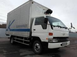 Toyota Dyna. Фургон , 1996 г. в., 4 100 куб. см., 3 500 кг.