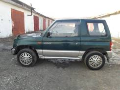 Mitsubishi Pajero Mini. механика, 4wd, 0.7 (64л.с.), бензин, 110 000тыс. км