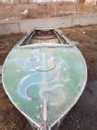 Казанка-М. Год: 1979 год, длина 4,60м., двигатель без двигателя, 25,00л.с., бензин