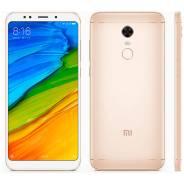 Xiaomi Redmi 5 Plus. Новый, 64 Гб, Желтый, Золотой, 3G, 4G LTE, Dual-SIM