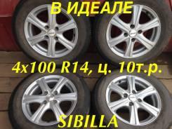 "Topy Sibilla RZ. 5.5x14"", 4x100.00, ET40"