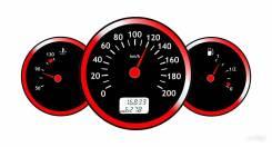 Корректировка одометра, спидометра, перевод мили в километры