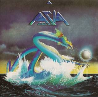 """CD Asia """"Asia"""" 1982 USA"""