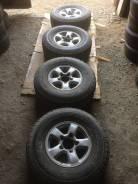 Bridgestone Dueler A/T. Всесезонные, 2001 год, износ: 40%, 5 шт