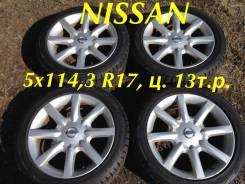 """Nissan. 7.0x17"""", 5x114.30, ET35"""