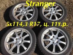 """Stranger. 7.0x17"""", 5x114.30, ET53"""